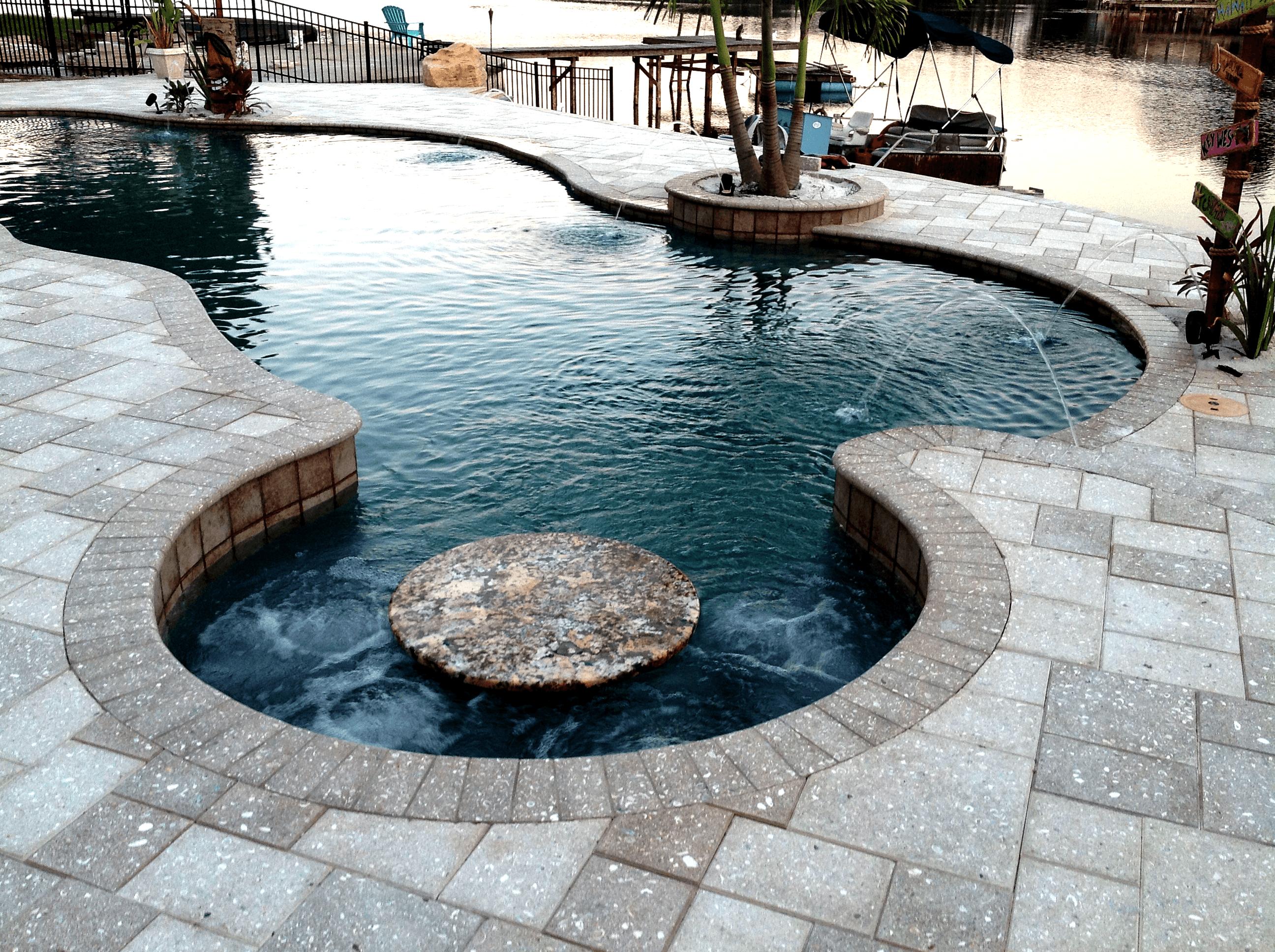 pool coping pavers