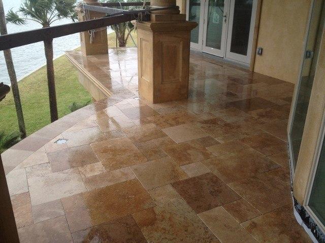 marble patio