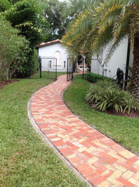 walkways pavers