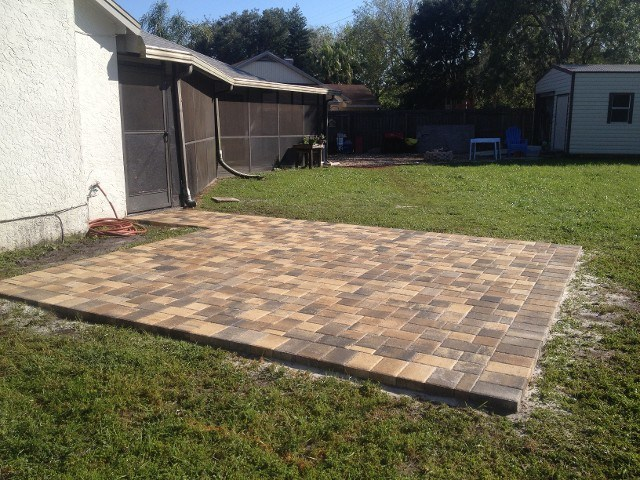 how to make a paver walkway
