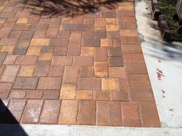 how to do brick paving