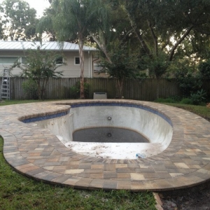 pool patio pavers