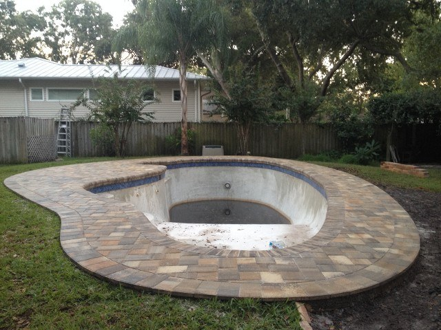 pool patio pavers